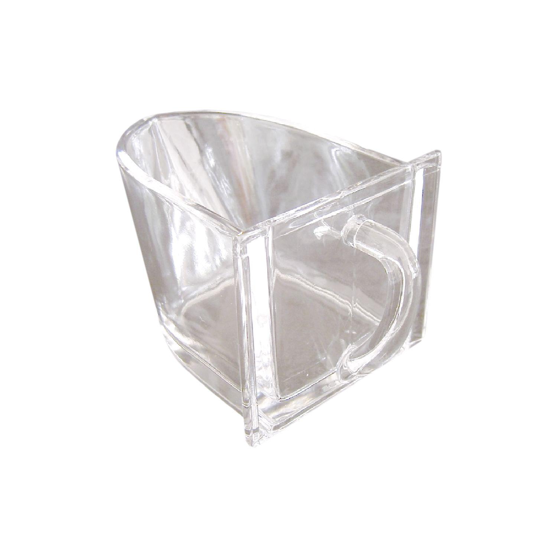 Küchenschütte küchenschütte bleikristall breite 130 mm höhe 105 mm glatt glasklar
