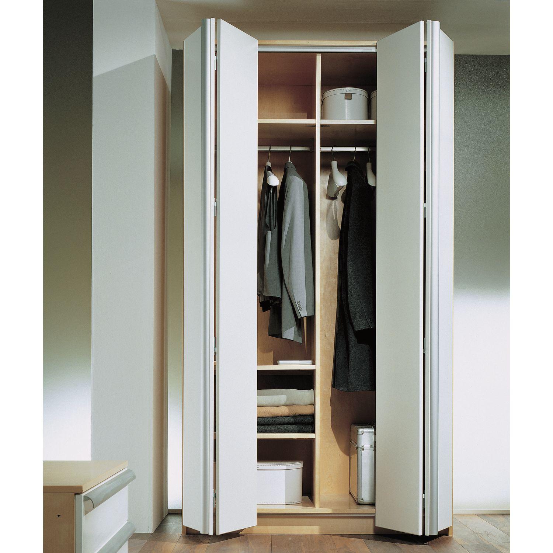 Складные двери для шкафа. преимущества и недостатки складных.