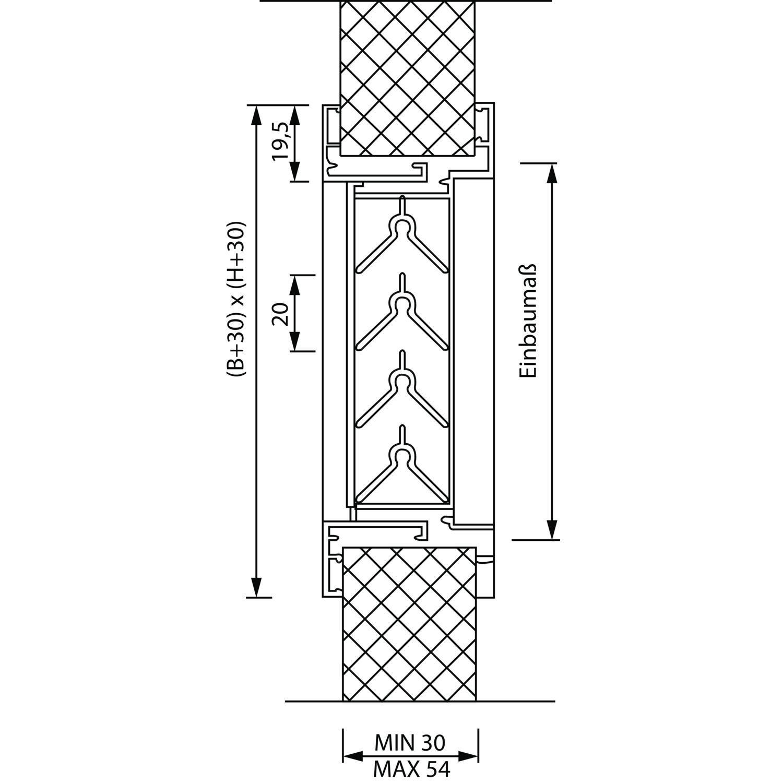 Luftungsgitter Renson 461 455 X 105 Mm Aluminium Silber Eloxiert