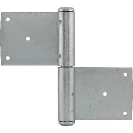 da76636479 Ajtó diópánt, csap ø 13 mm, pántmagasság 120 mm, jobbos, horganyzott acél