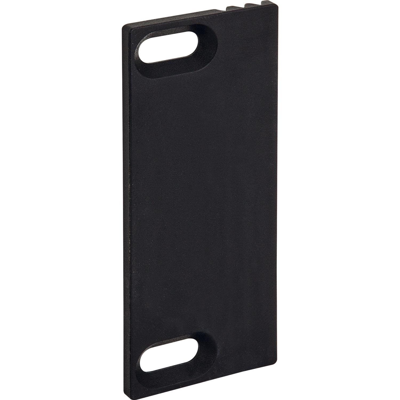 fallenauslaufplatte 32x80x3 kunststoff schwarz. Black Bedroom Furniture Sets. Home Design Ideas