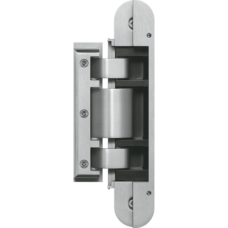 Glastürband TECTUS TEG 310 2D verdeckt f Ganzglastüren Edelstahl matt