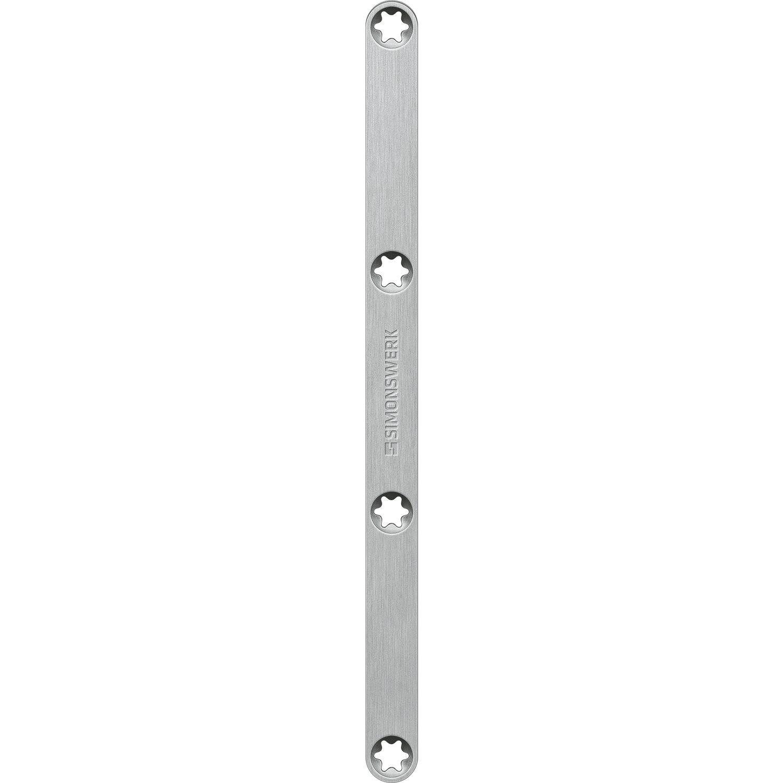Magnetplatte Keep Close KC 50 H für Holz 145 x 8 mm Edelstahl matt