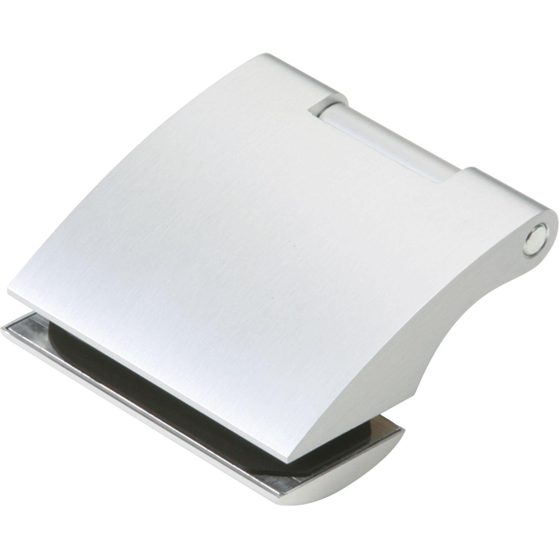Alu silber eloxiert Türband Flügelteil DORMA Studio Arcos 24.230 Glas 8 mm