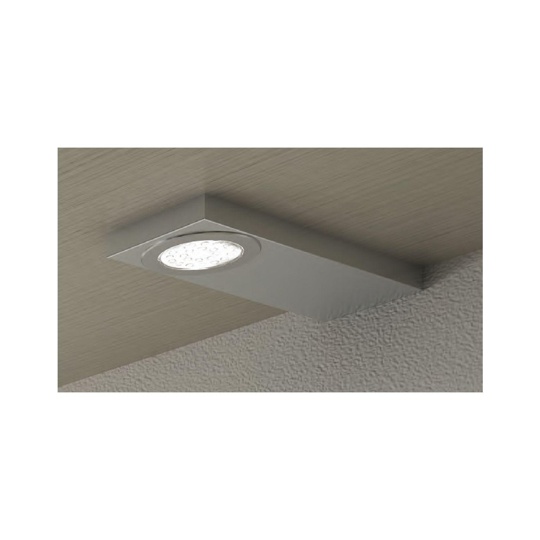 LED Unterbauleuchte EVOMETRIS 1,6 W, 12 V/DC, Neutralweiß Edelstahl
