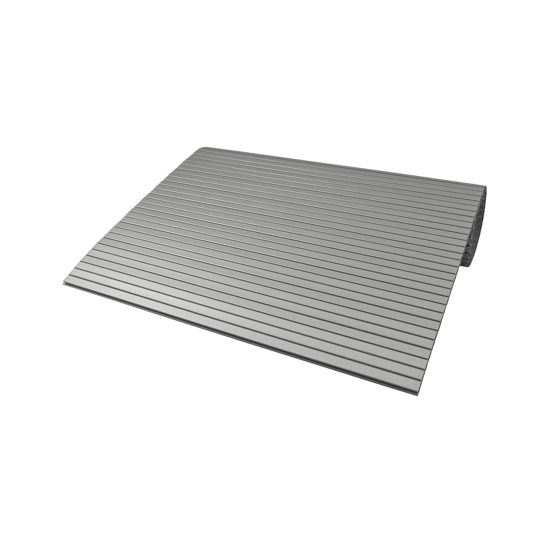 Breite 600 mm Länge 2430 mm REHAU Rollladenmatte Kunststoff lichtgrau