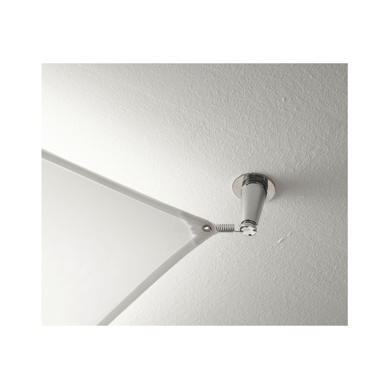 Deckenleuchte Veroca 1 LED 1700x1700, Stoffsegel weiß