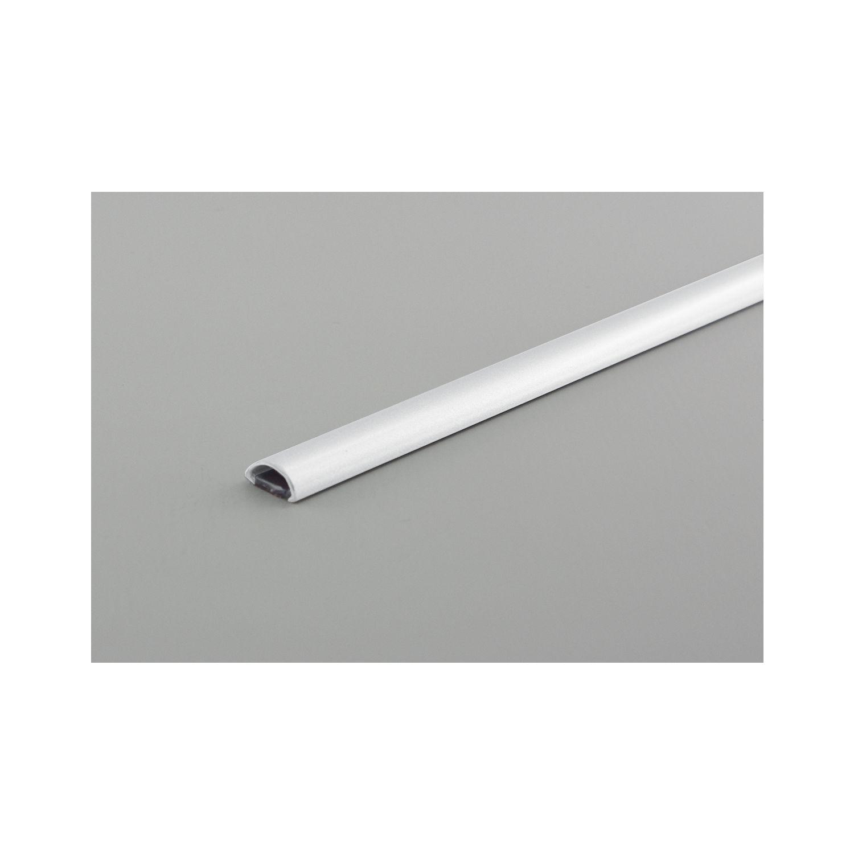Kabelkanal Mini, L: 1200 mm, B: 10 mm, H: 5 mm, Kunststoff weiß