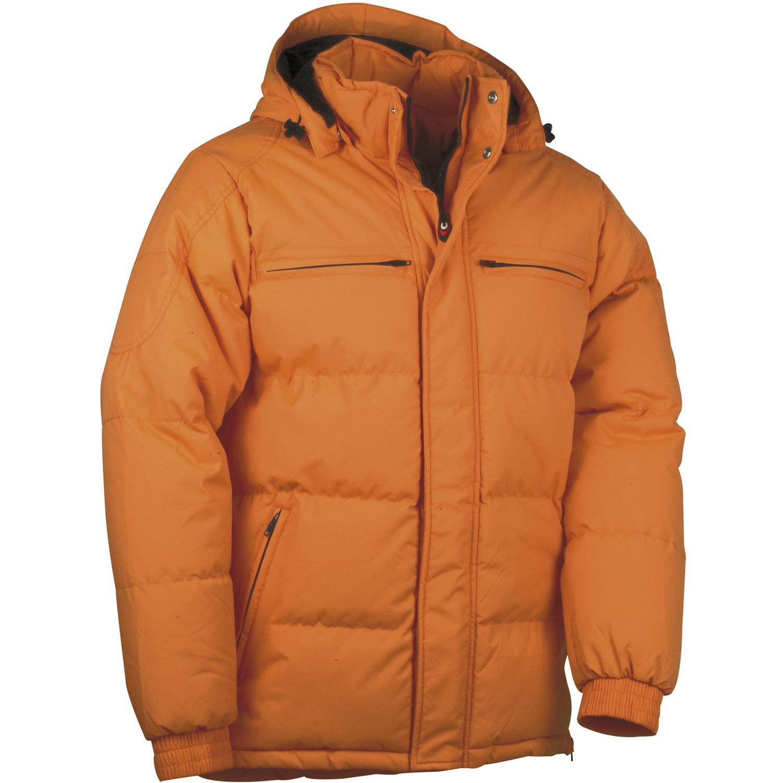 cofra winterjacke quebec fb orange material 100 nylon gr 48. Black Bedroom Furniture Sets. Home Design Ideas