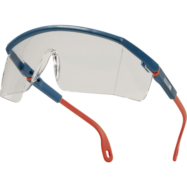 Belüftet Chemische Beweis Schutzbrille Ppe Delta Plus Sajama Klar Polycarbonat
