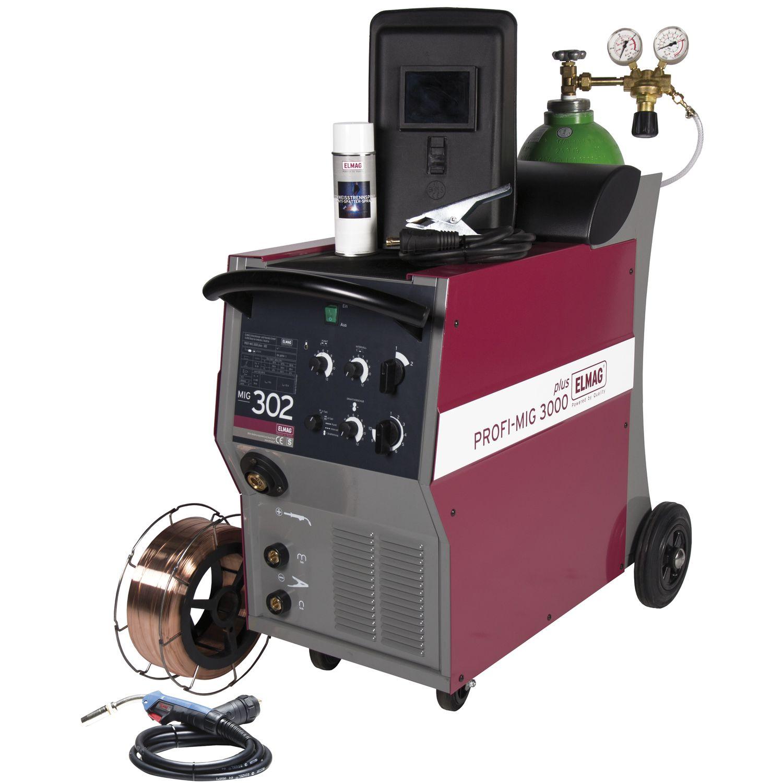 ELMAG Schutzgas-Schweißanlage Profi-Mig 302-Set