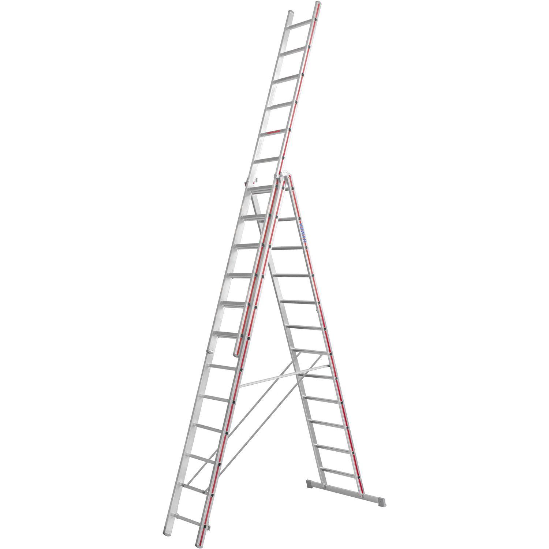 hymer alu-allzweckleiter 3-teilig type 4047 sprossen=3 x 12