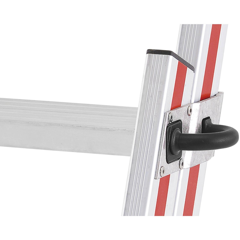 hymer alu einh nge schiebeleiter mit handlauf type 6092 sprossen 11 12. Black Bedroom Furniture Sets. Home Design Ideas