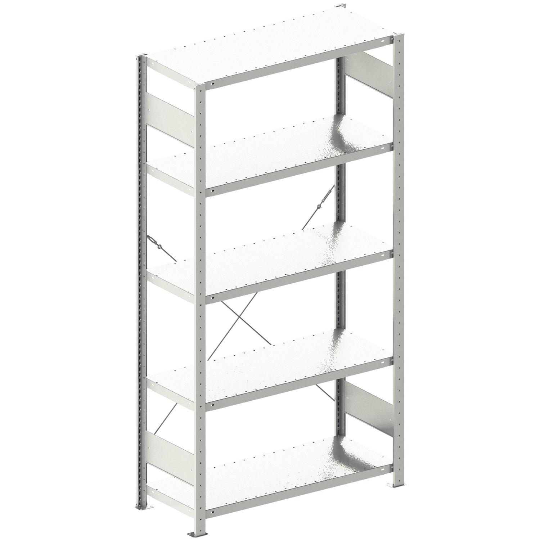 steck regal 2000 x 1000 x 400 mm tragkraft 100 kg. Black Bedroom Furniture Sets. Home Design Ideas