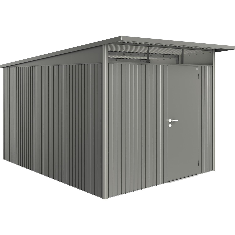 biohort ger tehaus avantgarde gr xxl 2600 3800 2220mm quarzgrau metallic 1 t rig. Black Bedroom Furniture Sets. Home Design Ideas