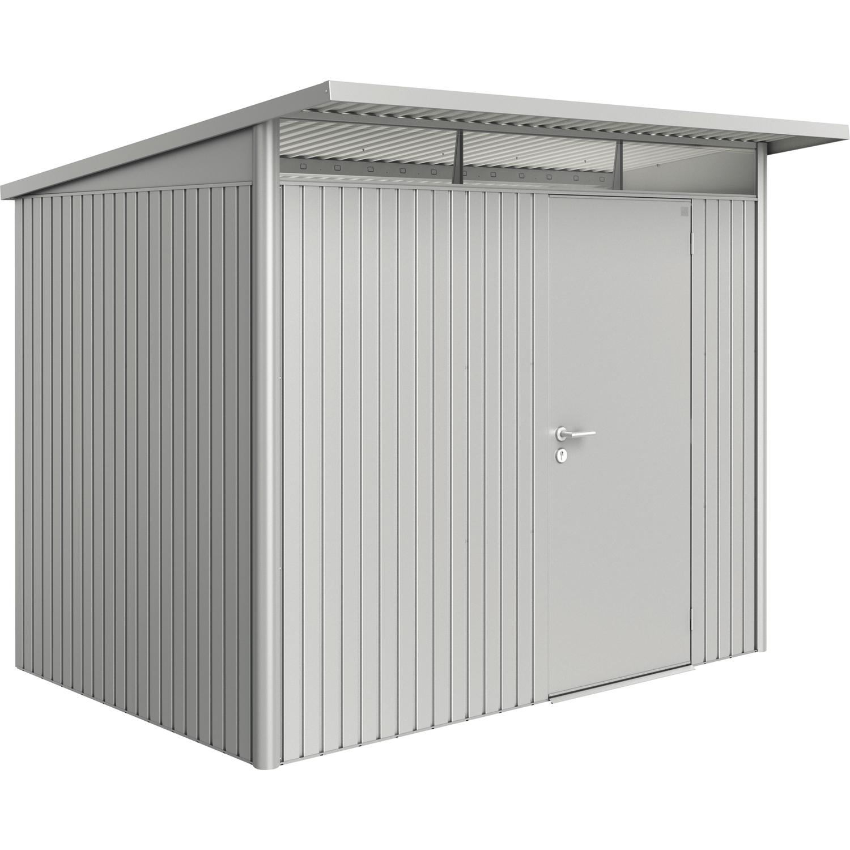 biohort ger tehaus avantgarde gr l 2600 2200 2180 mm silber metallic 1 t rig. Black Bedroom Furniture Sets. Home Design Ideas