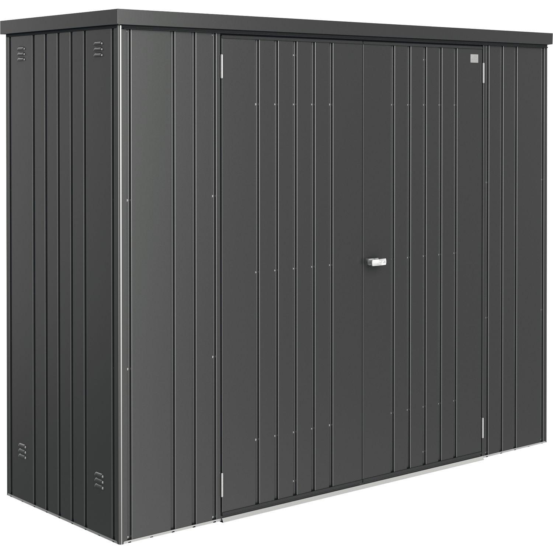 biohort ger teschrank 2270 830 1825 mm dunkelgrau metall. Black Bedroom Furniture Sets. Home Design Ideas