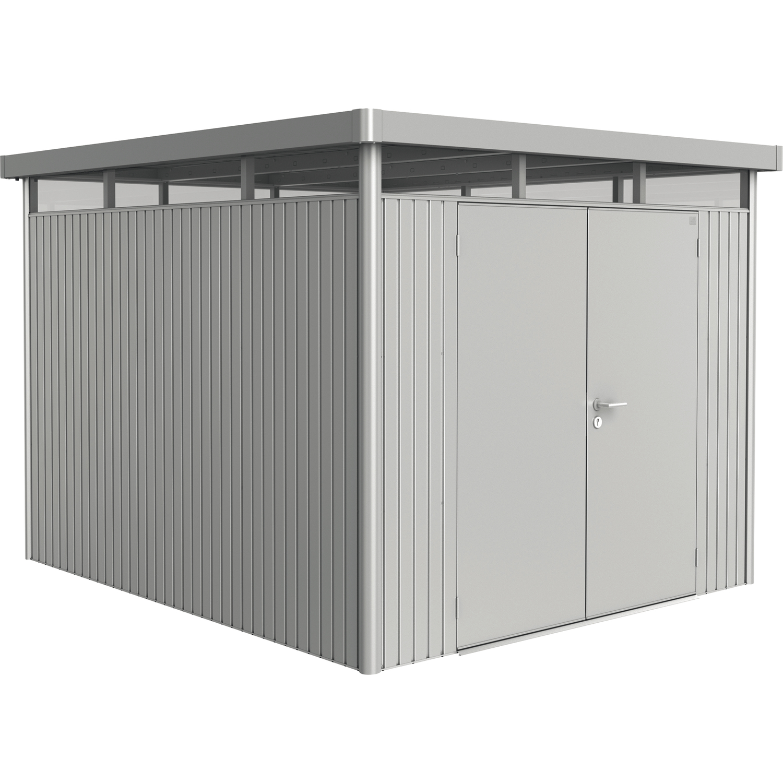 biohort ger tehaus highline gr h5 2750 3150 2220 mm silber metallic 2 t rig. Black Bedroom Furniture Sets. Home Design Ideas