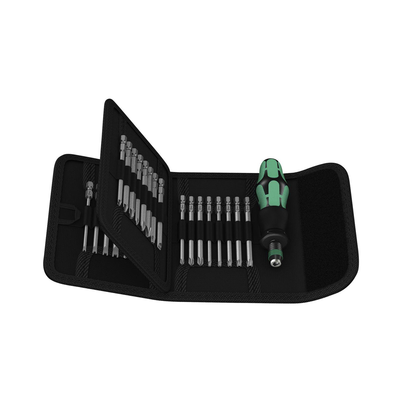 wera bit satz kraftform kompakt 62 in tasche 33 teilig. Black Bedroom Furniture Sets. Home Design Ideas