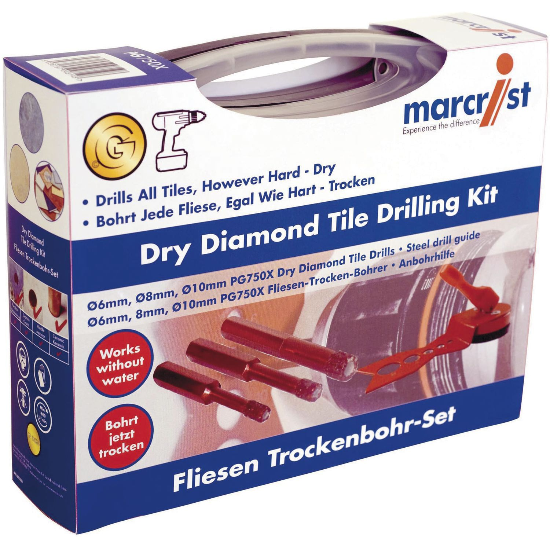 marcrist diamant fliesen trockenbohrset pg750x 4 teilig. Black Bedroom Furniture Sets. Home Design Ideas