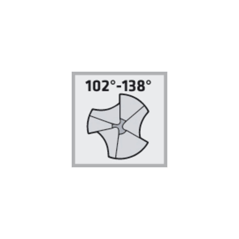 MAYKESTAG 229000500100 Kegelsenker DIN335C Z=3 90 Grad HSS Co5 Zylinderschaft 4 mm