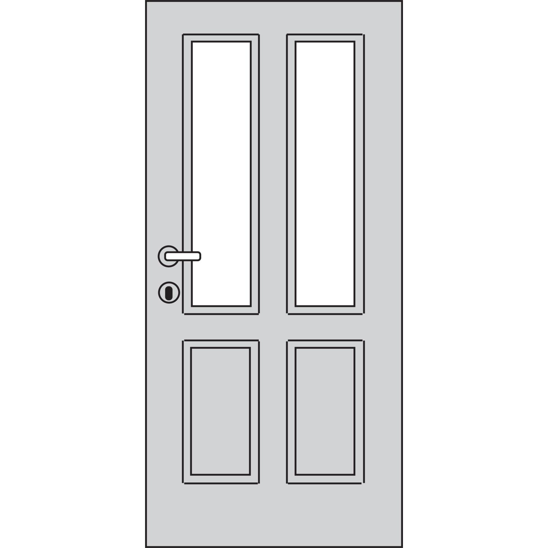verglasungsvariante h esg glas 4 mm klarglas. Black Bedroom Furniture Sets. Home Design Ideas