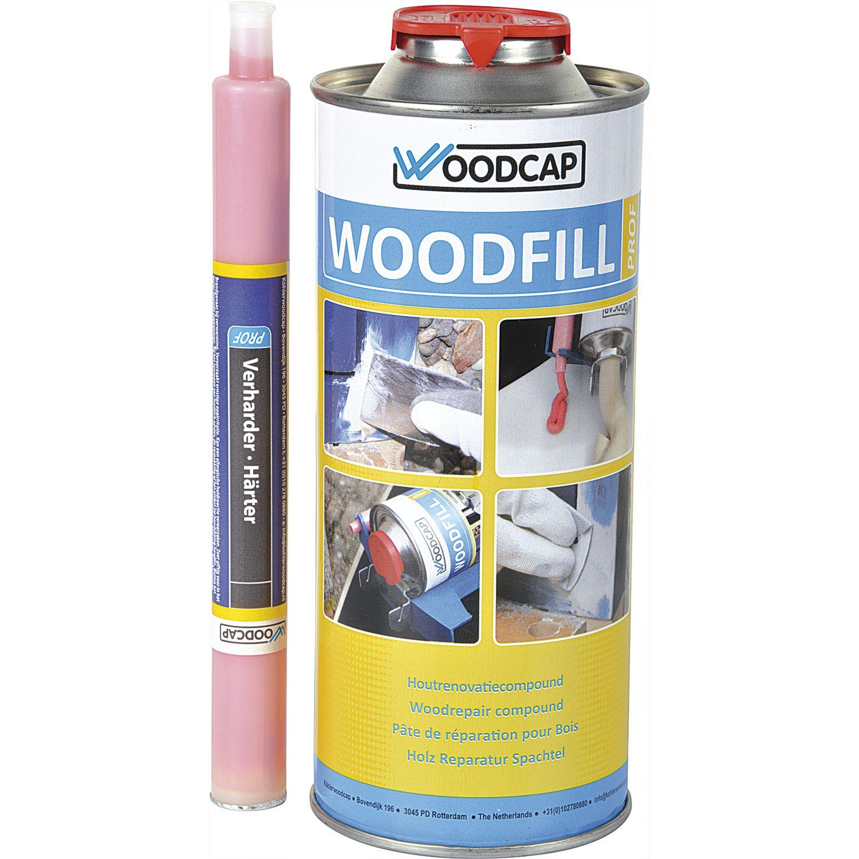 woodfill reparaturspachtel mit härter, beige