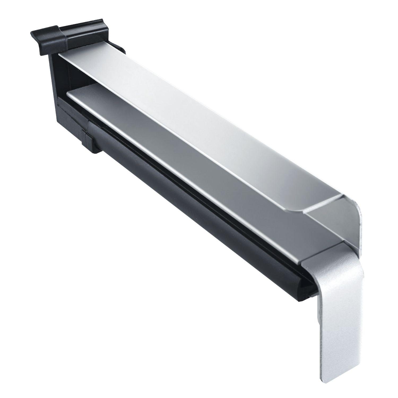 seitenabschluss bf4006 mit dichtteil f r putz alu mittelbr elox 130 mm. Black Bedroom Furniture Sets. Home Design Ideas