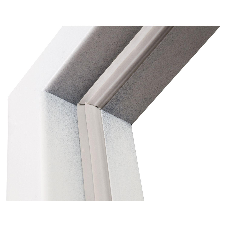 Inklusive  Mehrkammern-Zargendichtung für leisen und dichten Schließkomfort
