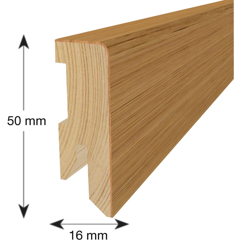 tilo sockelleiste l rche wei 16 50. Black Bedroom Furniture Sets. Home Design Ideas