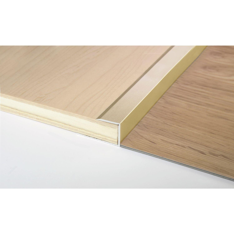 gleitabschlussprofil u alu sand eloxiert 13 1000 mm. Black Bedroom Furniture Sets. Home Design Ideas