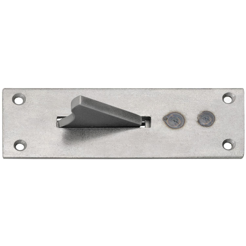 Stahl verzinkt Einlegstange mit Öse VK 7 mm 800 mm