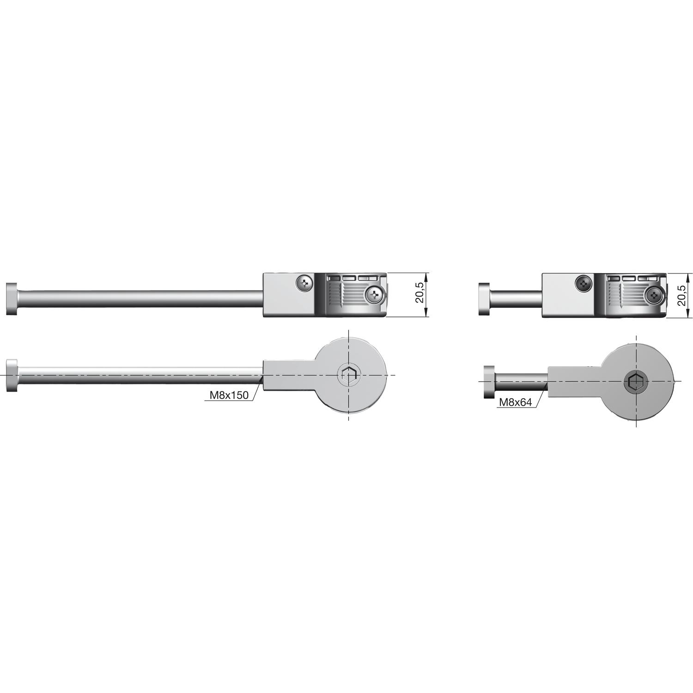 Arbeitsplattenverbinder Quick Gegenstuck Zu Verbinder Kunststoff