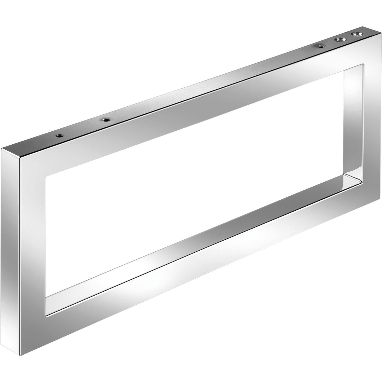 wandkonsole handtuchhalter h he 200 mm tiefe 480 mm chrom glanz. Black Bedroom Furniture Sets. Home Design Ideas