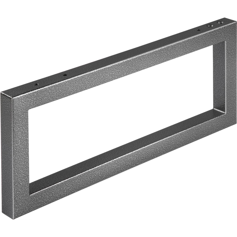 wandkonsole handtuchhalter h he 200 mm tiefe 480 mm schwarz. Black Bedroom Furniture Sets. Home Design Ideas
