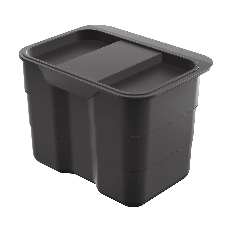 NINKA Einhänge-Abfallbehälter biobin,227x165x170, 4,2 L, Kunststoff ...