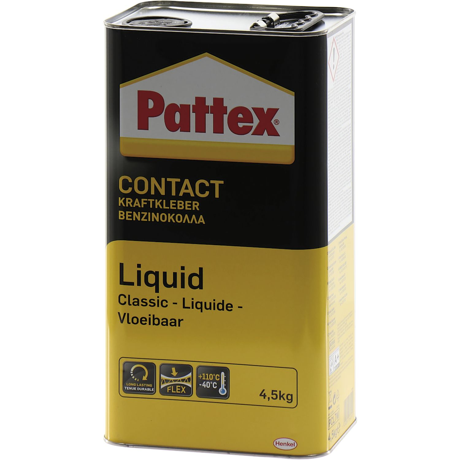 pattex kraftkleber liquid 4 5kg fl ssig. Black Bedroom Furniture Sets. Home Design Ideas