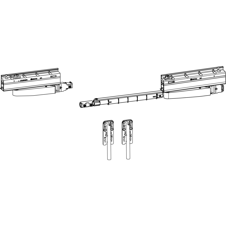 HAUTAU ATRIUM SP komfort Grundkarton Laufwerk, links, 160 kg