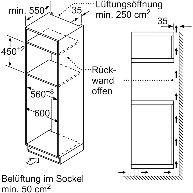 SIEMENS Mikrowellen Backofen CM585AMS0 Edelstahl