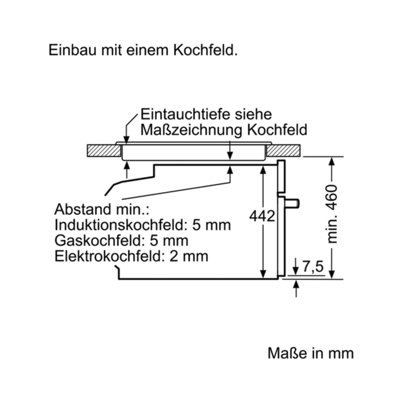 Siemens Kompakt Backofen M Mikrowelle U Dampfstoss Funktion