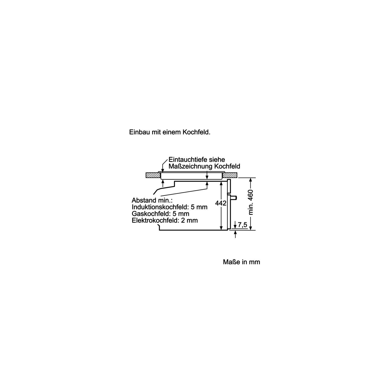 SIEMENS Einbau Dampfgarer CD634GBS1 Edelstahl