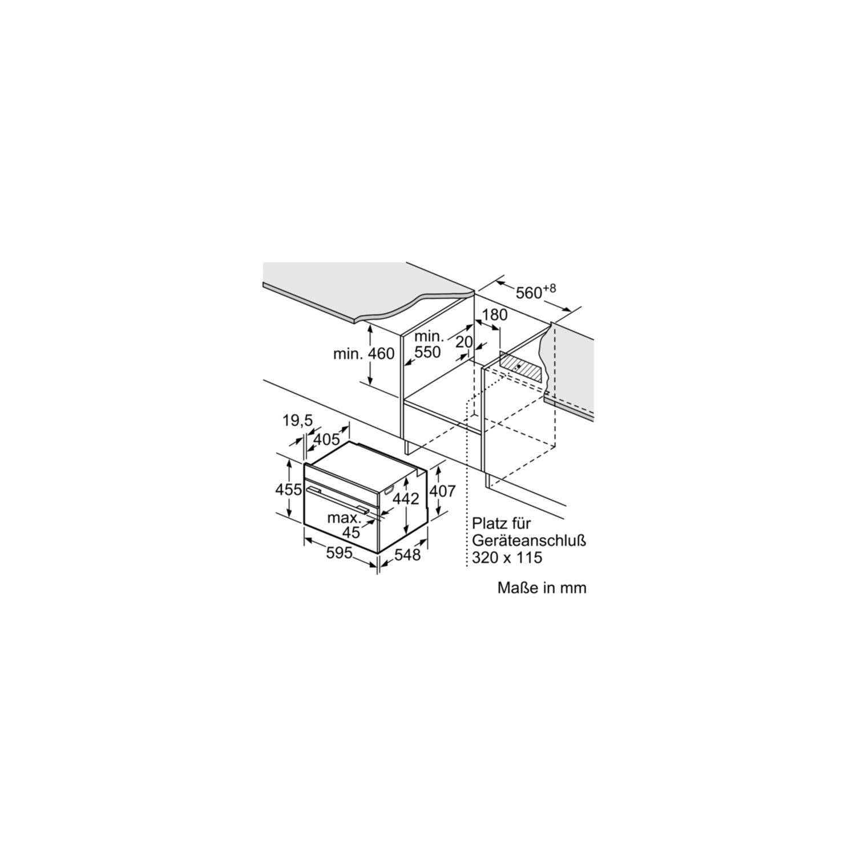 siemens einbau dampfgarer cd634gbs1 edelstahl. Black Bedroom Furniture Sets. Home Design Ideas