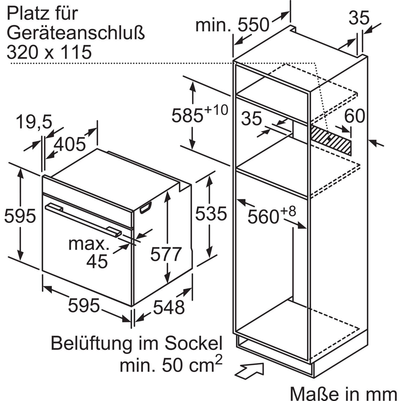 siemens backofen mit mikrowelle hm678g4s1 edelstahl. Black Bedroom Furniture Sets. Home Design Ideas