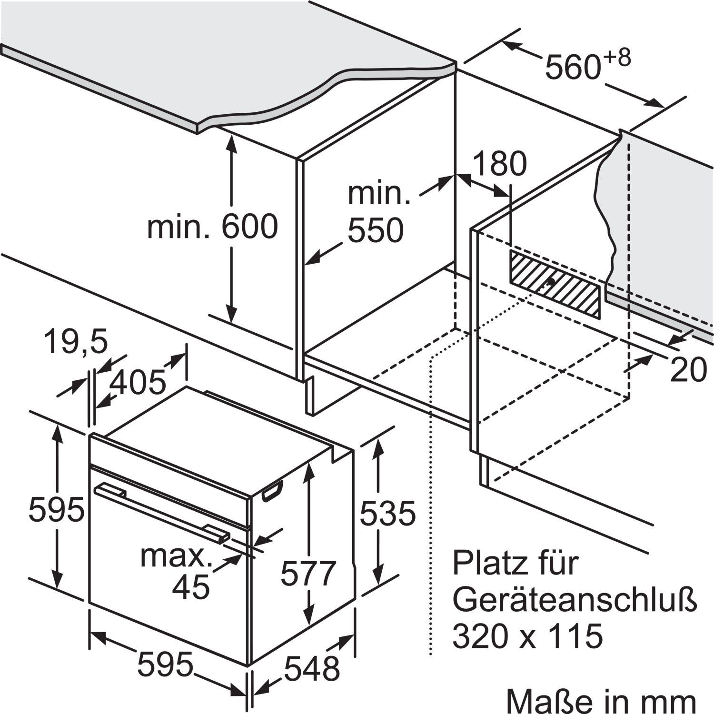 Siemens Backofen Mit Mikrowelle Und Dampfstoss Funktion Hn678g4s6