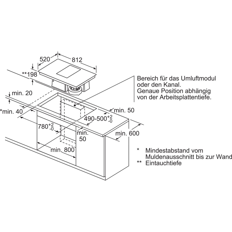 siemens kochfeld mit integriertem dunstabzug ex875lx34e glaskeramik 800 mm. Black Bedroom Furniture Sets. Home Design Ideas