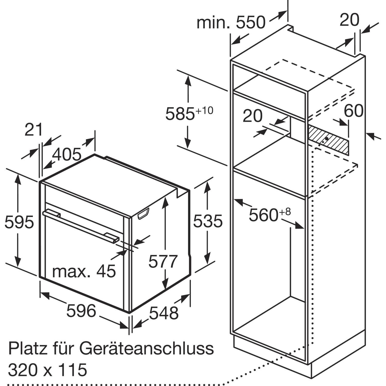 neff backofen bcs5722nmc edelstahl. Black Bedroom Furniture Sets. Home Design Ideas