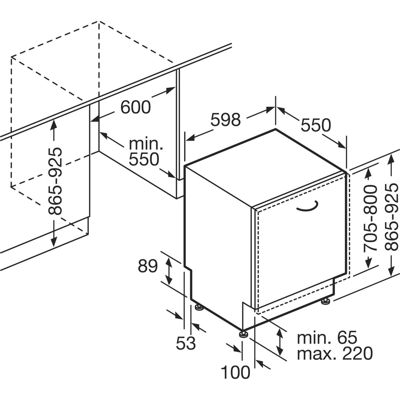 neff geschirrsp ler gx94602p vollintegriert nische 600 mm. Black Bedroom Furniture Sets. Home Design Ideas