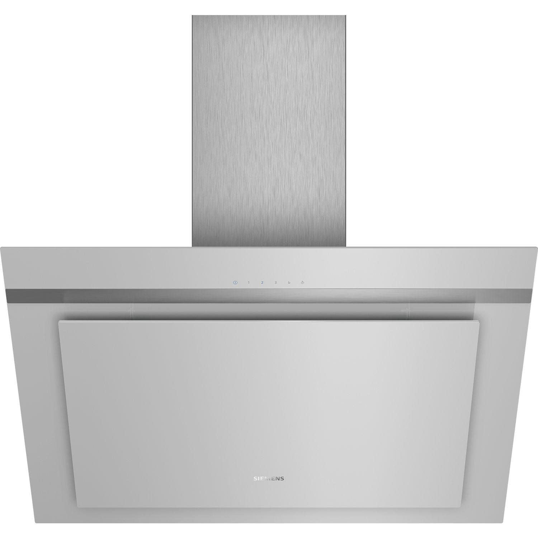 siemens wand dunstabzugshaube lc87khm10 silber 800 mm. Black Bedroom Furniture Sets. Home Design Ideas