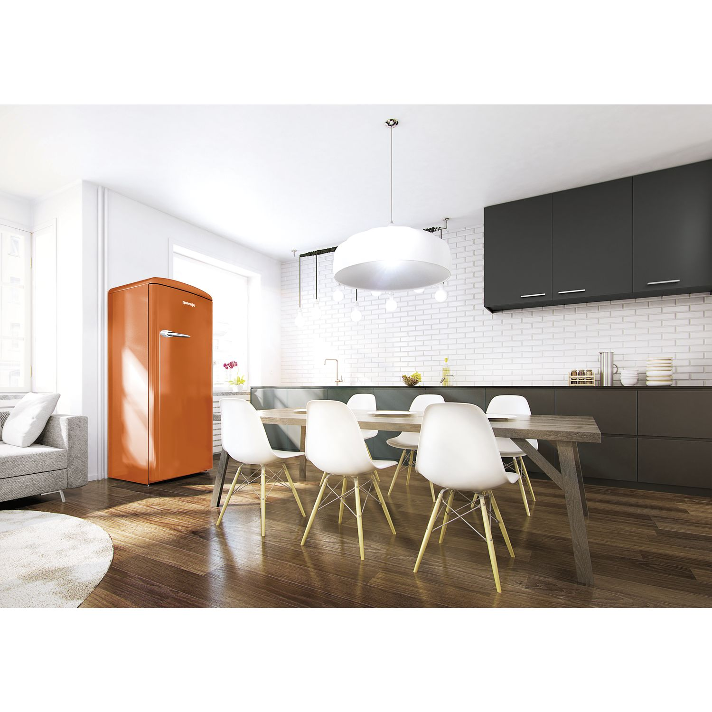 gorenje stand k hlschrank orb 153 o juicy orange 60 cm breit. Black Bedroom Furniture Sets. Home Design Ideas