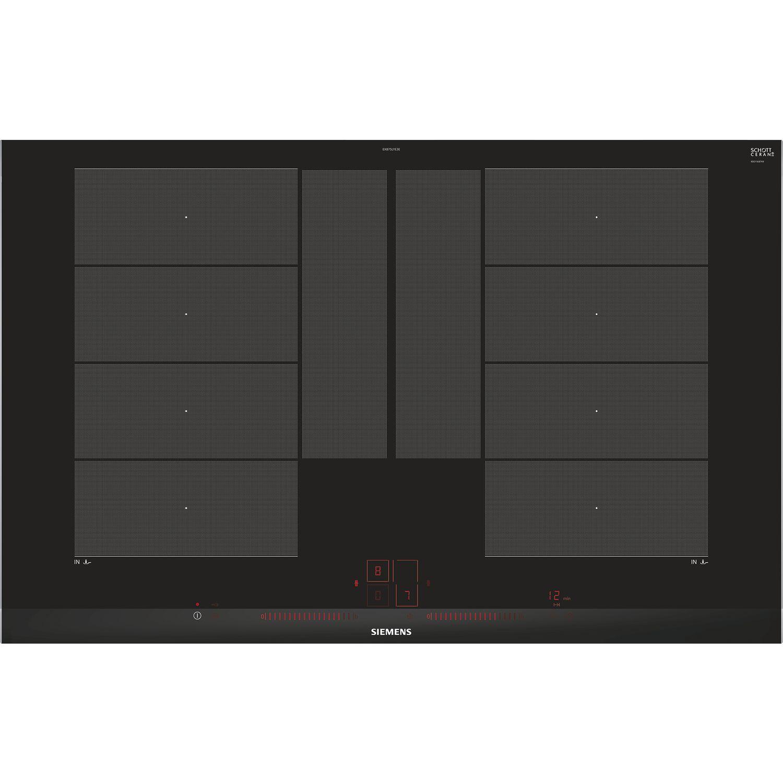 siemens kochfeld ex875lye3e glaskeramik induktion autark 800 mm. Black Bedroom Furniture Sets. Home Design Ideas